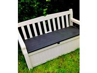 Brand new keter bench, XL and midi store it out keters also borneo keter
