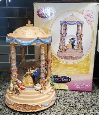Disney Beauty And The Beast gazebo Snowglobe