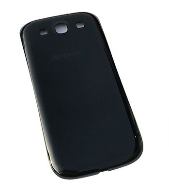 Black Back Battery Door Cover Case Samsung Galaxy S3 L710 I535 i9300 T999 i747 for sale  Shipping to India