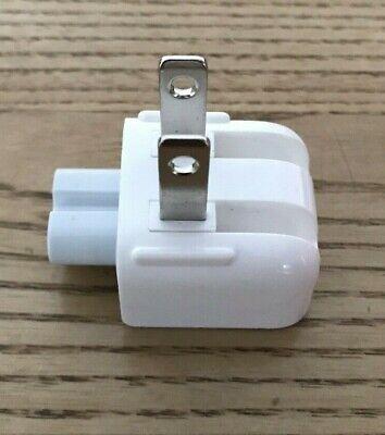 Apple USA US Macbook iPad iPhone Genuine/Official Mains Plug 2 Pin Flat Adapter. Flat-adapter