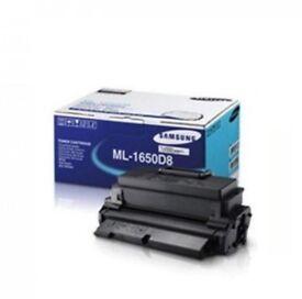 Genuine Black Samsung ML-1650D8 Toner Cartridge (ML-1650D8/SEE Laser Printer Cartridge)