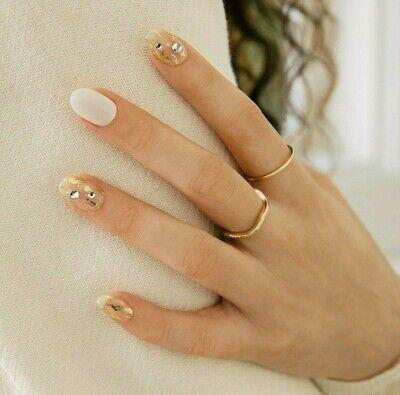 [ohora] Self Gel Nail Sticker art patch 30pcs N Lux White K-beauty