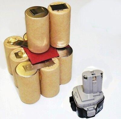 Tauschpack für Original Dewalt Akku 18 V  3.0 Ah NiMh  PANASONIC ZELLEN