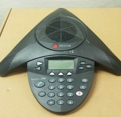 Polycom Soundstation 2w Wdct 2.4ghz Wireless Conference Phone 2201-67880-022
