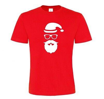 Santa Beard Funny Novelty Gifts Christmas T Shirt - Novelty Christmas Gifts