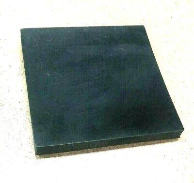Neoprene Rubber Solid Sheet 12 Thk X 8 X 8 Square Pad 60 Duro Std Flex