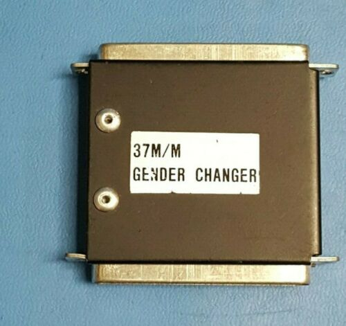 Adapter 37 Pin Male - Male Gender Changer