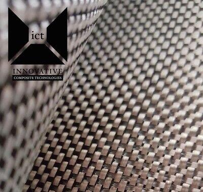 Carbon Fiber Fabric Cloth Plain Weave - 5.7 Oz 3k 50 X 24 Automarine