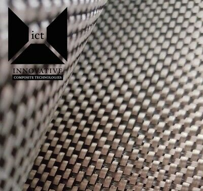 "Carbon Fiber Fabric / Cloth:  Plain Weave - 5.7 oz,  3K, 50"" x 24"