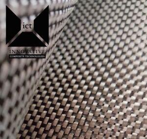 Carbon Fiber Fabric / Cloth:  Plain Weave - 5.7 oz,  3K, 50