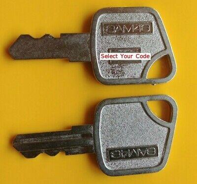 2 Key For Sam4s Samsung Crs Series Electronic Cash Register Ecr Drawers