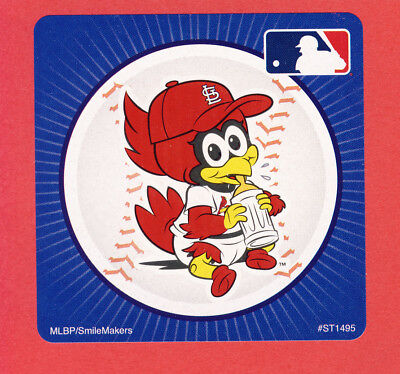 15 St. Louis Cardinals Mascot - Large Stickers - Major League Baseball