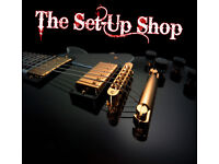 The Setup Shop. Professional Guitar and Bass Set Ups, Upgrades and Repairs.