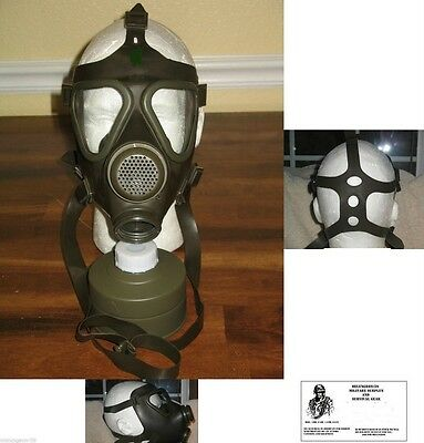 GERMAN - GAS MASK - WITH 40MM NATO NBC FILTER -  ALL NEW OLD STOCK