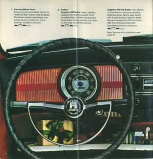 NEW steering wheel covers Ford Holden Valiant Chrysler MOPAR