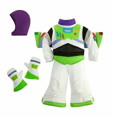 Disney Store Baby Boy Toy Story Buzz Lightyear Costume Outfit  New Free Shipping