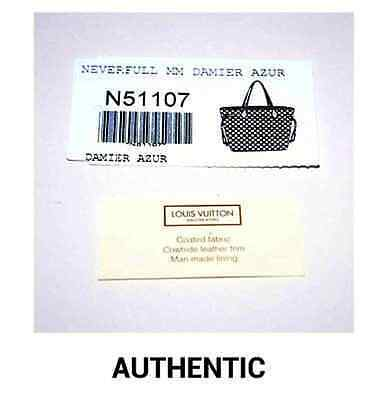 587e0eed214d Authentic tags booklets are made of quality paper materials and the grain  on the brown paper is defined. Fake replica booklets often have the  incorrect font ...