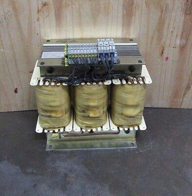 Michael Industry Automation Dtr11 25kva Auto Transformer H.v. 480v L.v. 230v