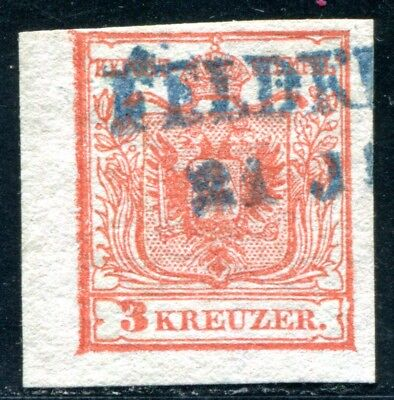 ÖSTERREICH 1850 3XaI BLAUER STEMPEL FELDKIRCH (D5996 online kaufen