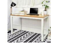 Computer desk / work desk - Wayfair skillings desk