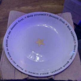 Brand New Next Pasta Bowls
