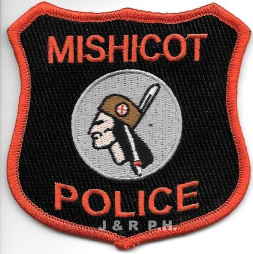 """Mishicot, Wisconsin  (3.5"""" x 3.5"""" size)  shoulder police patch (fire)"""