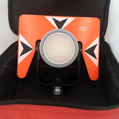 New All Metal Prism Set Wbag For Nikontopconsokkia Total Stations -300mm