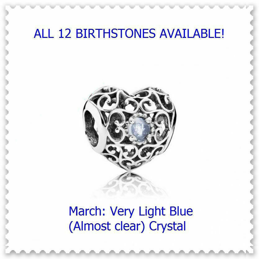 March Very Light Blue Crystal