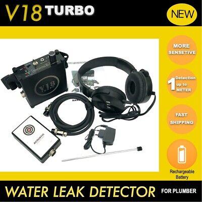 V18 Turbo Acoustic Water Pipe Leak Detector