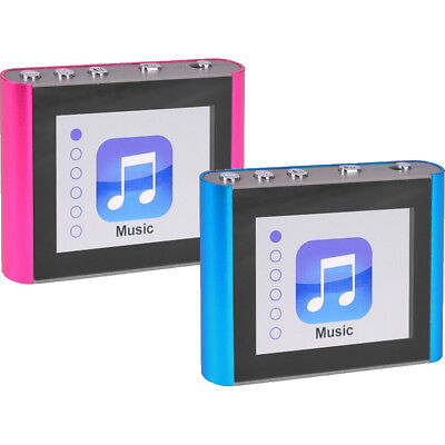 "Eclipse Fit Clip Plus 8GB 1.8"" LCD MP3 Digital Music Video P"