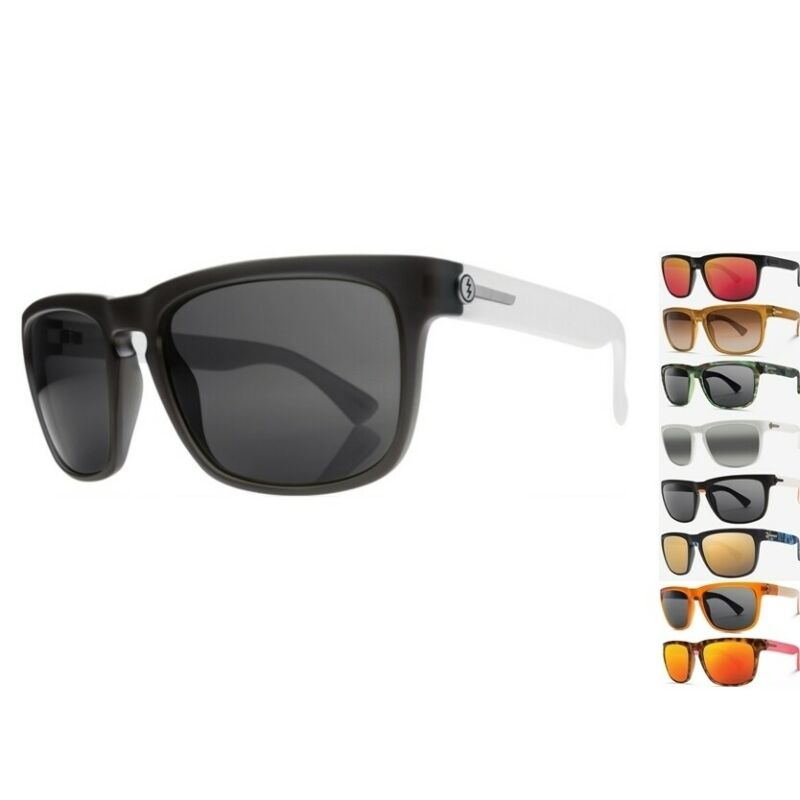 NEW Electric Mudslinger Matte Tort Ohm Grey Mens Sport Wrap Sunglasses Ret$90