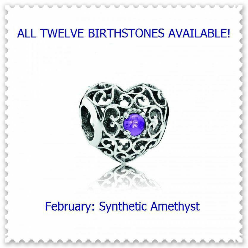 February Synthetic Amethyst