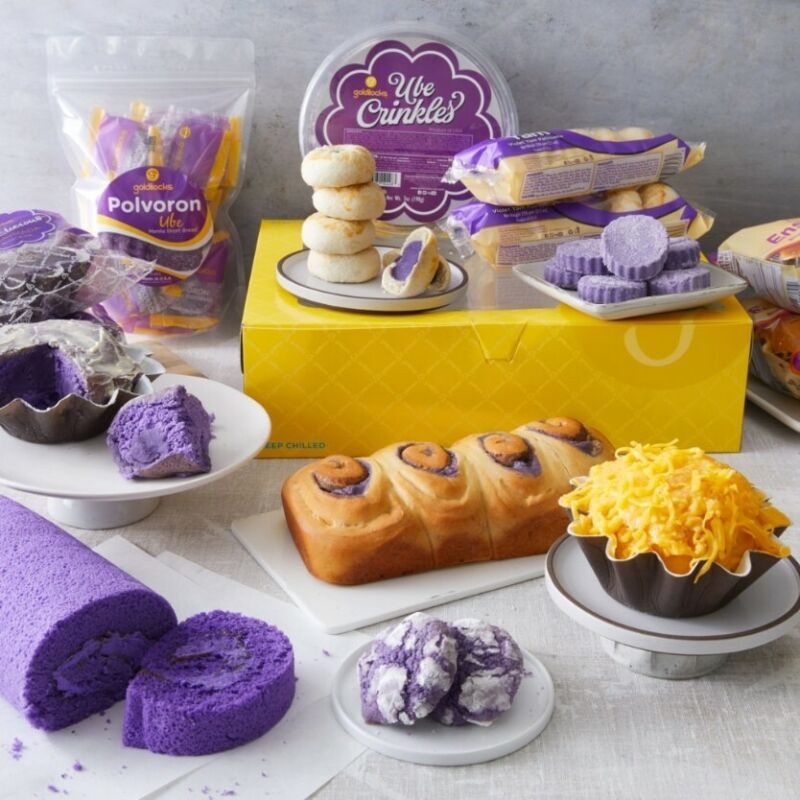 Goldilocks Polvoron Assorted, Biscocho, Pandesal and Hopia*READ THE DESCRIPTION