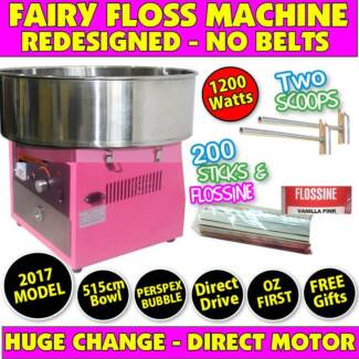 FAIRY FLOSS MACHINE SALES JUST $525