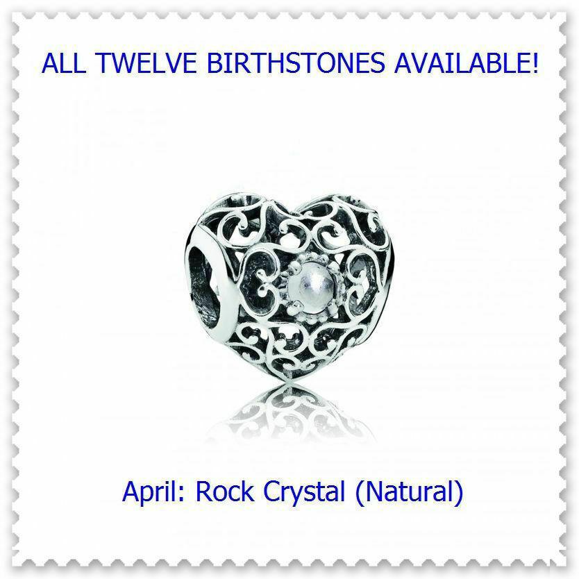 April Natural Rock Crystal
