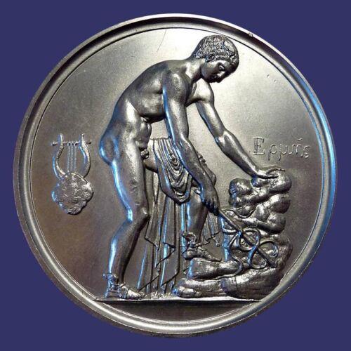 Limited Edition Medal of Club Français de la Médaille, by Louis Felix Chaubaud