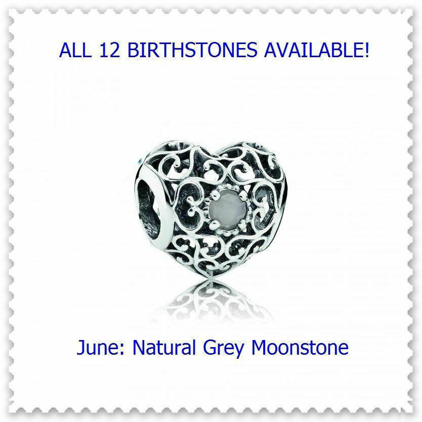 June Natural Grey Moonstone