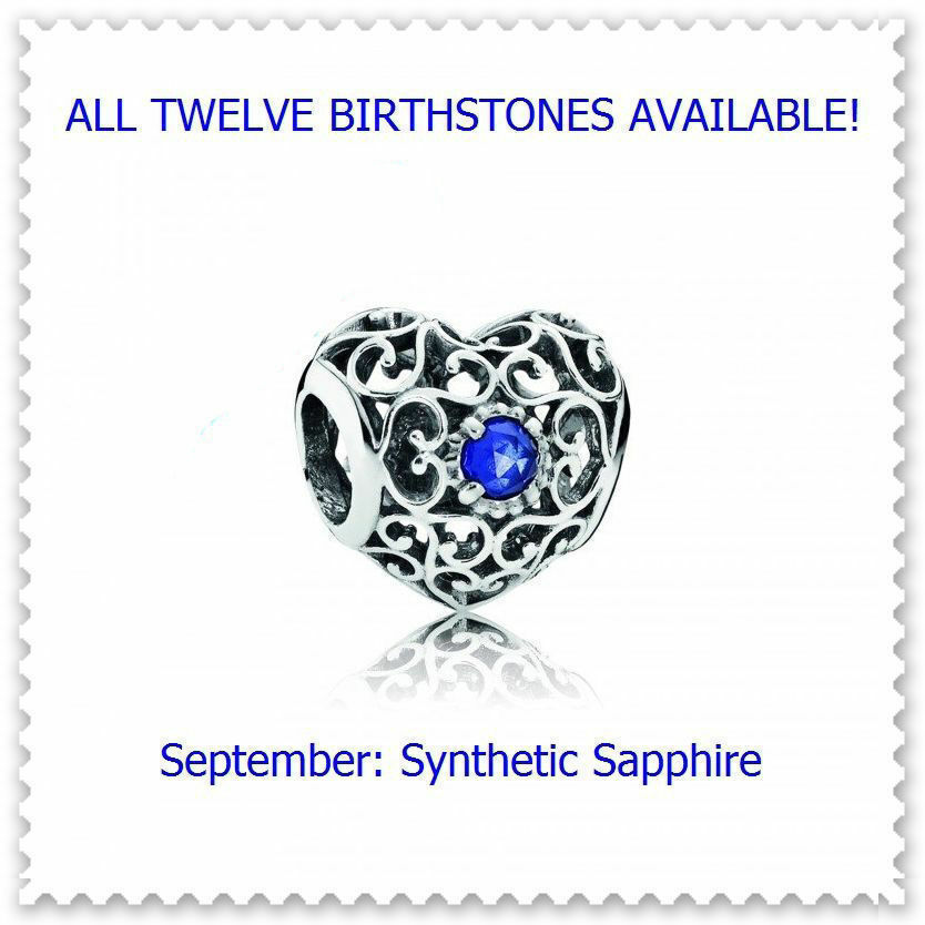 September Synthetic Sapphire