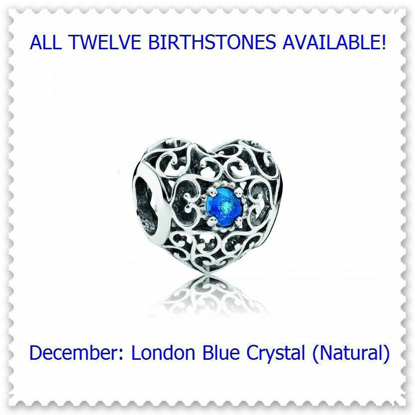 December Natural London Blue Crystal