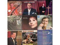 9 x mixed genre vinyl albums