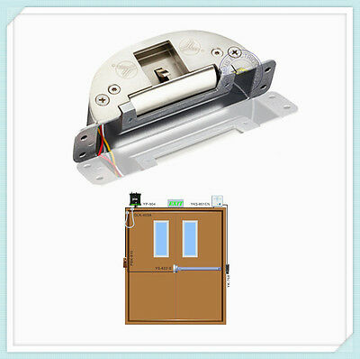 Access Control Electric Strike Lock For Fire Exit Emergency Door Push Panic Bar