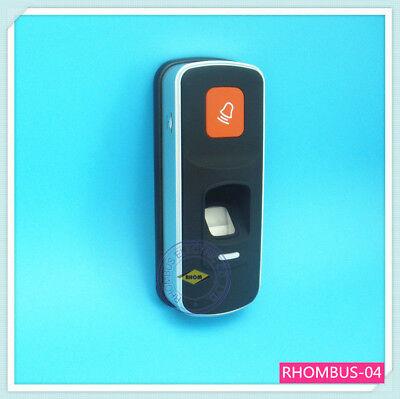 Id Card Reader Access Attendance Control System Security Fingerprint Rfid