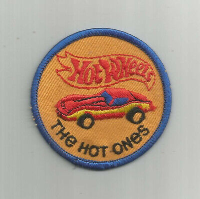 "VINTAGE 1980s ERA HOT WHEELS ""THE HOT ONES"" PATCH (MINT!!)"
