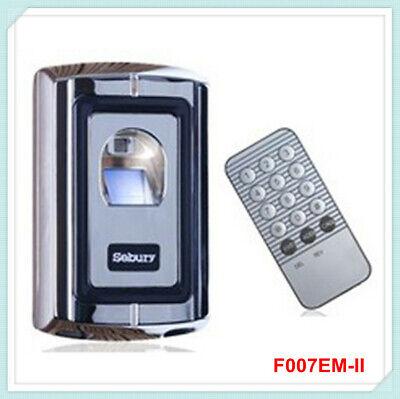 Biometric Fingerprint Em Card Door Access Control Controller Metal Case
