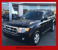 2012 Ford Escape AWD XLT 17 000KM  *INSPECTÉ PAR FORD 132PTS*