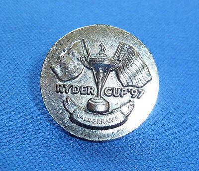 RYDER CUP  1997 VALDERRAMA GOLF BALL MARKER