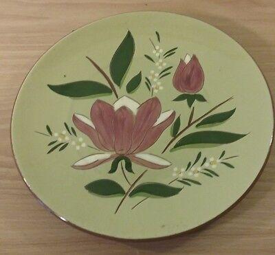 Vintage Stangl Pottery Magnolia Flower Plate