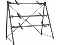 Stagg KXS-C34BK 3-Tier Keyboard Synth Stand