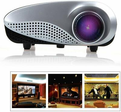 LED Home Theater 600 Lumens Mini Full HD 1080P Projector AV HDMI USB 3D Cinema