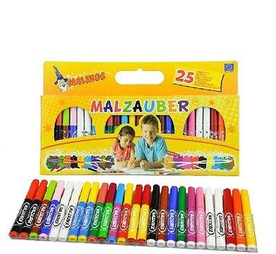Malinos Malzauber Stifte Malen Zauberstifte Magic Pens 25 Stifte NEU